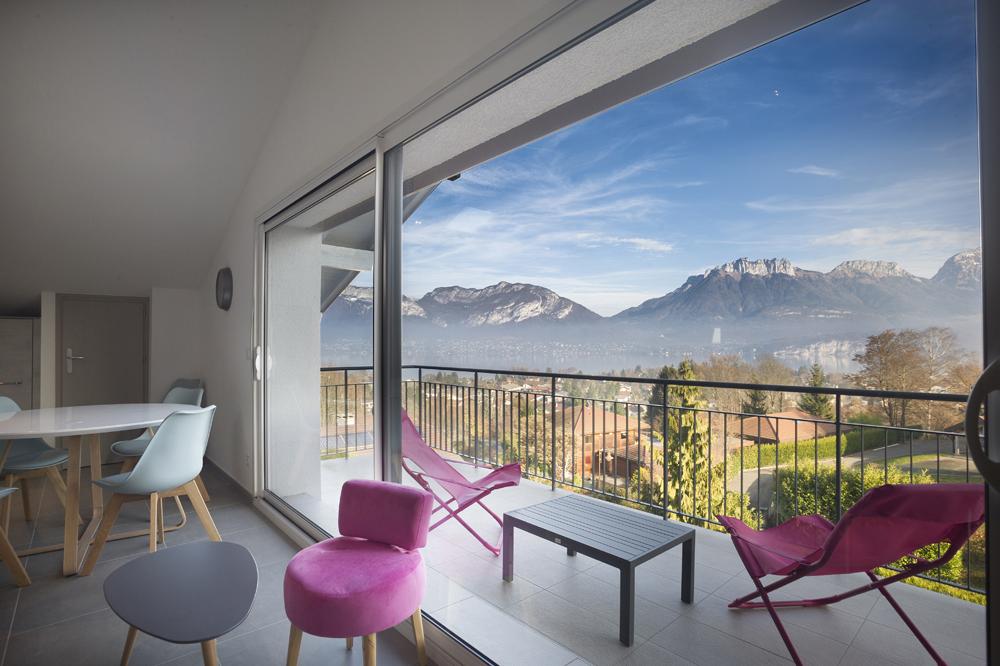 appartement mont blanc 4 annecy annecy vue lac. Black Bedroom Furniture Sets. Home Design Ideas